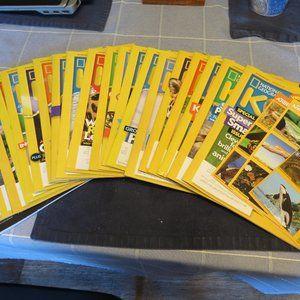 National Geographic kids Magazines